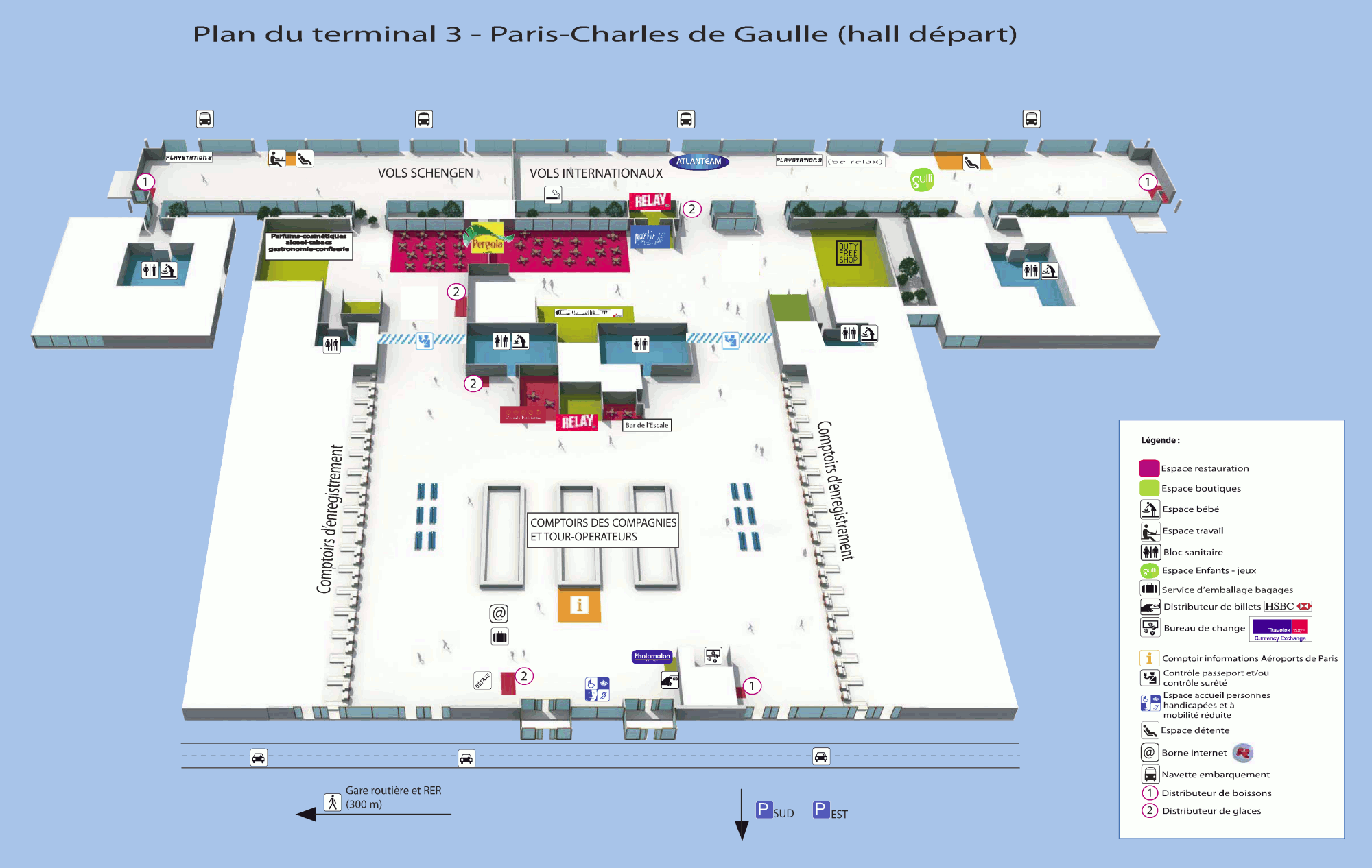 Roissy Charles De Gaulle Airport Cdg On Francetravellight Com